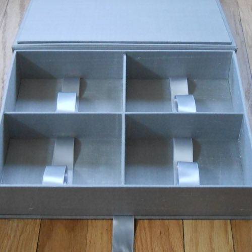 Image of custom box compartments.